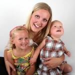 Mamma og jentene 2 firkant