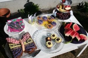 Kakebord i hagen